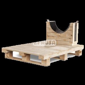 Cunas madera Efausa depositos