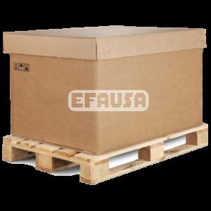 Embalajes cartón madera Efausa